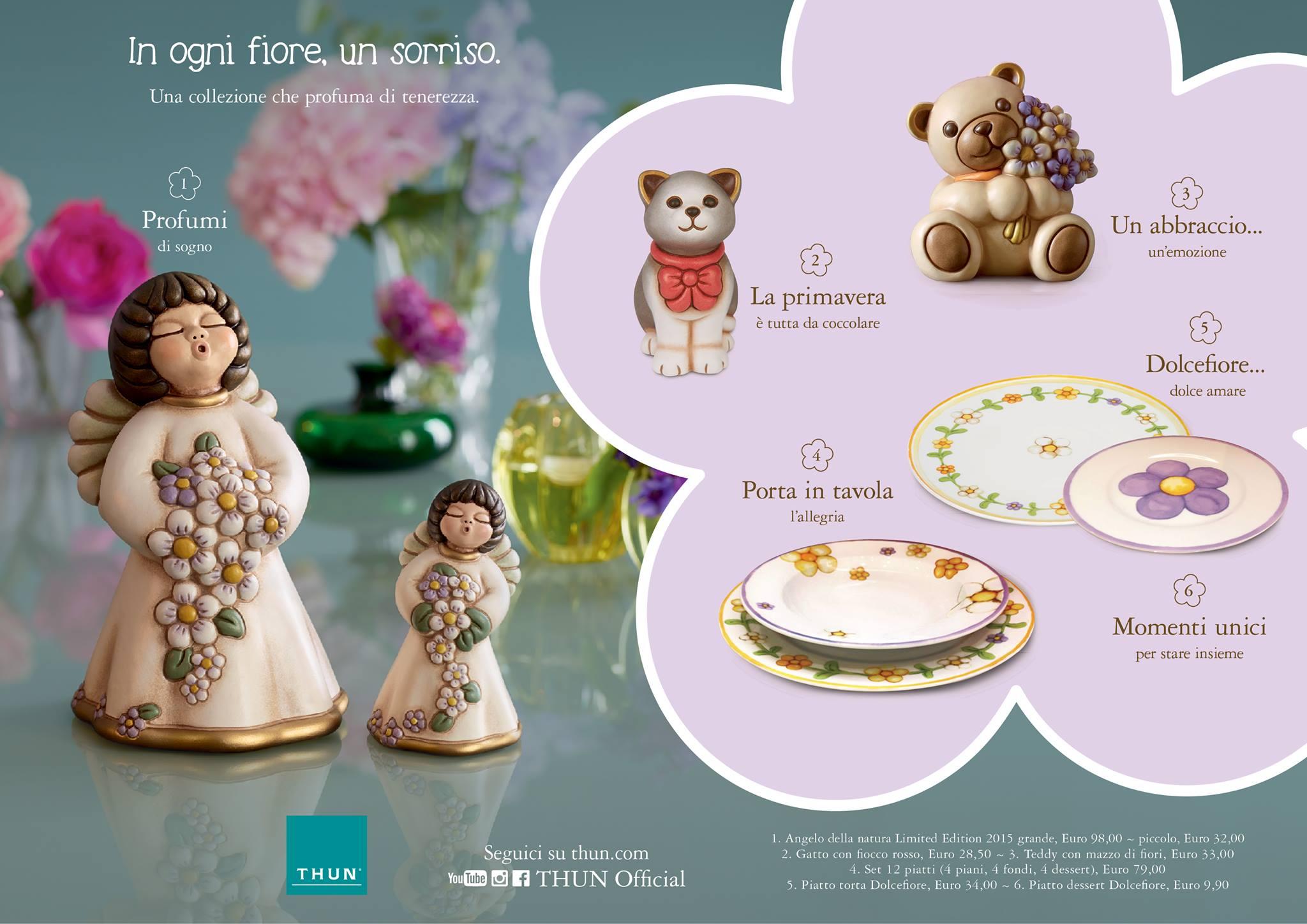 Favoloso Collezione Primavera Thun 2015 - Gardenia di Lella - Castelfranco  GX57